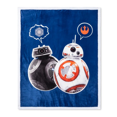 "Star Wars® Blue Throw Blanket (46""x60"") - image 1 of 1"