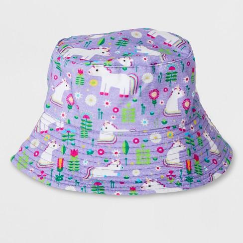 3d32ab30d5abf Unicorn Gardening Sun Hat Purple One Size - Kid Made Modern   Target
