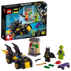LEGO DC Comics Super Heroes Batman vs. The Riddler Robbery 76137 Toy Car Building Kit 59pc