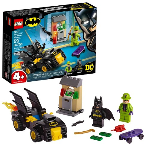 LEGO DC Comics Super Heroes Batman vs. The Riddler Robbery 76137 Toy Car Building Kit 59pc - image 1 of 7