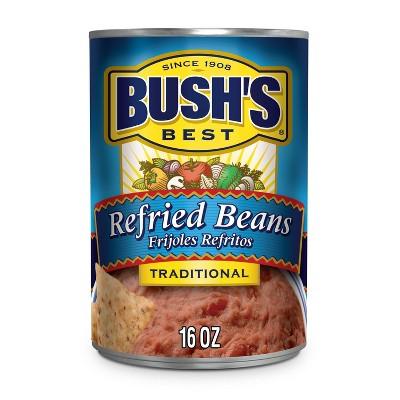 Bush's Refried Beans Traditional - 16oz
