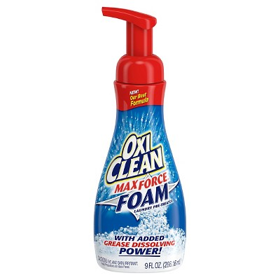Oxi Clean Max Force Laundry Stain Remover Foam - 9Oz