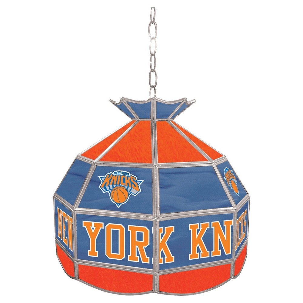 New York Knicks Tiffany Style Lamp - 16 inch