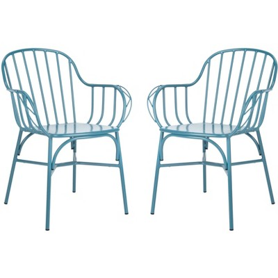 Tucker Stackable Arm Chair (Set of 2)  - Safavieh