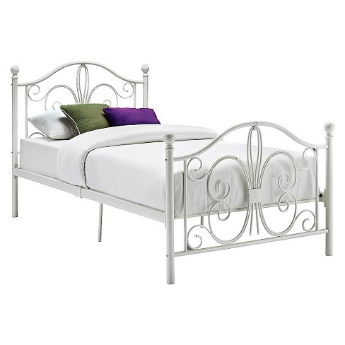 Bombay Metal Bed Twin White Dorel Home Products Target