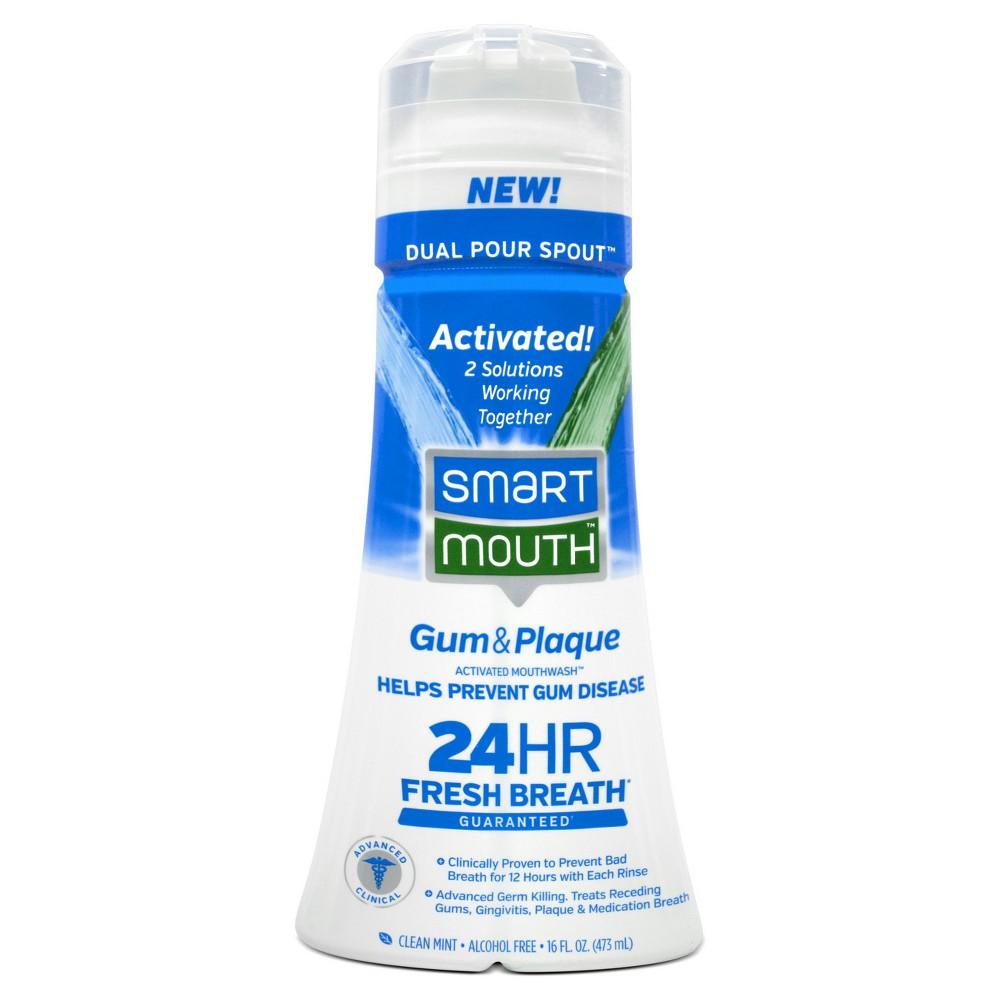 Smart Mouth Advanced Clinical Formula Fresh Mint Activated Mouthwash - 16oz.