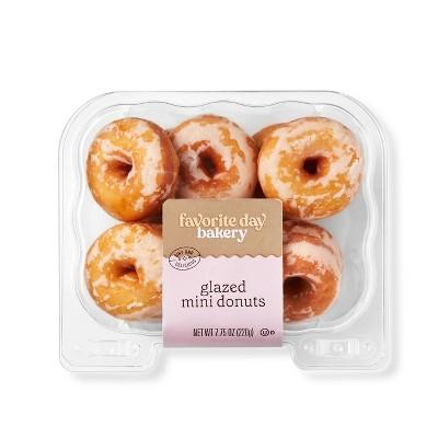 Glazed Mini Donuts - 7.75oz - Favorite Day™