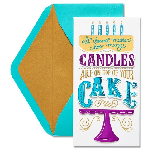 Papyrus Cake Birthday Card - image 1 of 4