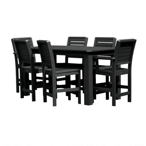 Weatherly 7pc Rectangular Counter Dining Set - Highwood - image 1 of 4