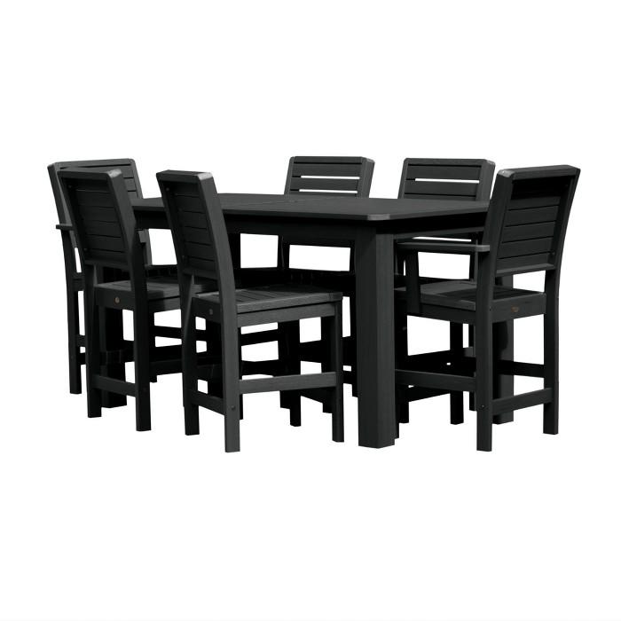 Weatherly 7pc Rectangular Counter Dining Set - Highwood - image 1 of 9