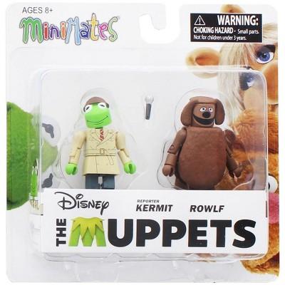 Diamond Comic Distributors, Inc. Muppets Reporter Kermit & Rowlf 2-Pack Series 2 Minimates