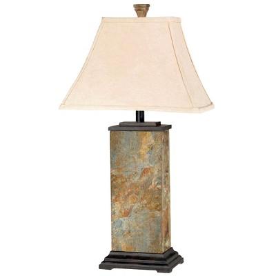Kenroy Home Bennington Table Lamp - Natural Slate