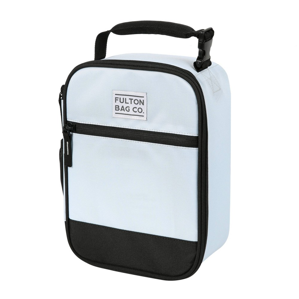 Image of Fulton Bag Co. Upright Lunch Bag - Ballard Blue
