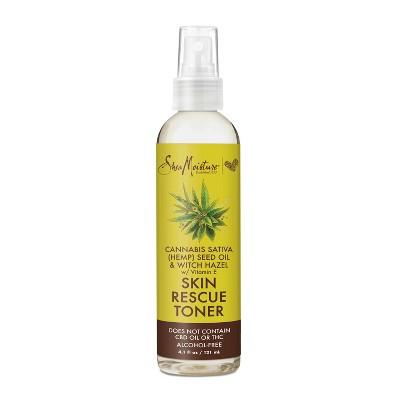 SheaMoisture Cannabis & Witch Hazel Skin Rescue Alcohol-Free Toner - 4.1 fl oz