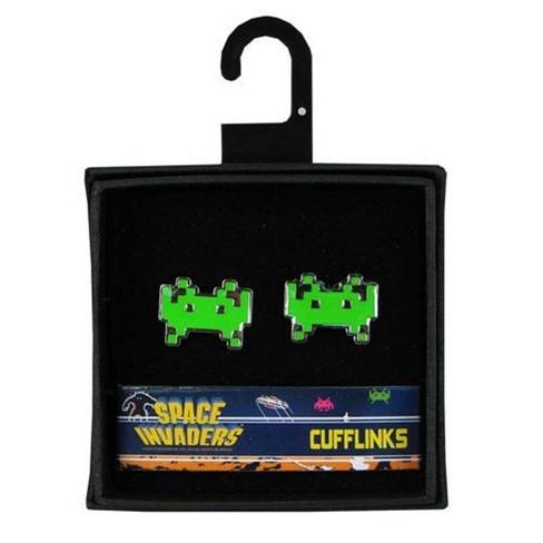 Diamond Comic Distributors, Inc. Space Invaders Cufflinks Set - image 1 of 3