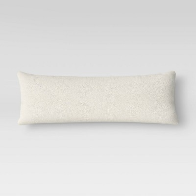 Sherpa Body Pillow Cover Cream - Room Essentials™