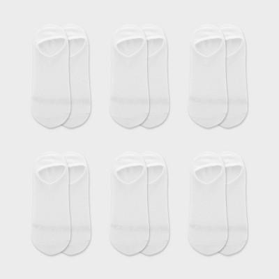 Fruit of the Loom Women's Breathable Lightweight 6pk Liner Athletic Socks 4-10