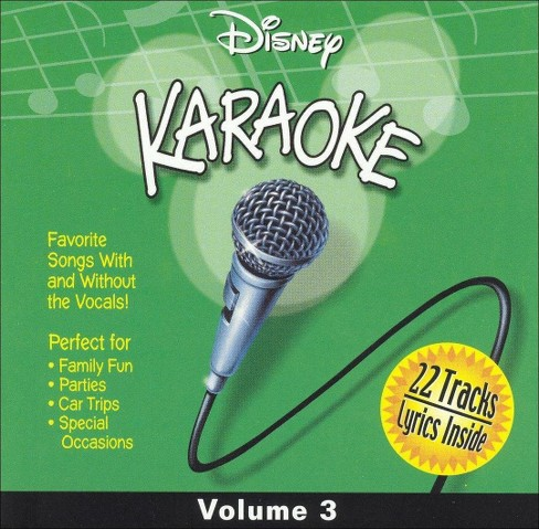 Disney's karaoke ser - Disney karaoke volume 3 (CD) - image 1 of 1