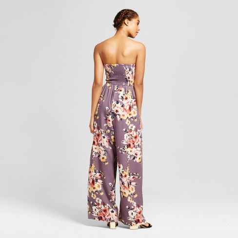 9713620f306f Women s Strapless Quilted Jumpsuit - Xhilaration™ (Juniors ...