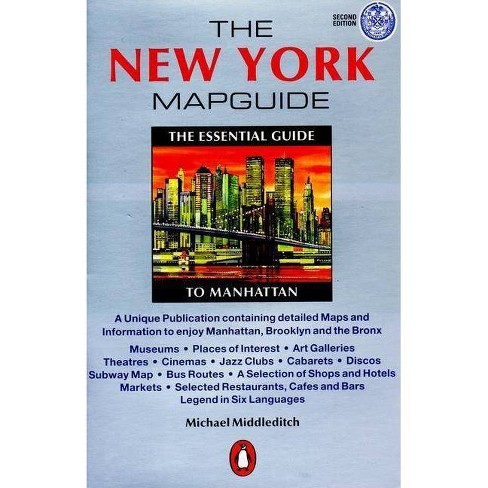 The New York Mapguide - (Mapguides, Penguin) 4 Edition by  Michael Middleditch (Paperback) - image 1 of 1