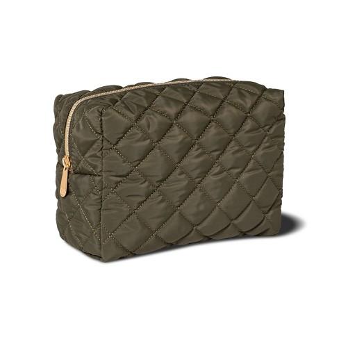 Sonia Kashuk™ Loaf Bag - Green Quilt - image 1 of 2