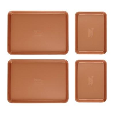 FamilyTraditions 4pc Copper Quarter & Half Sheet Set