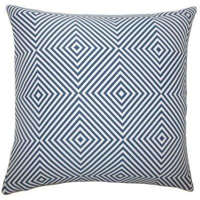 "Upton Geometric Throw Pillow.(18""x18"") - The Pillow Collection"