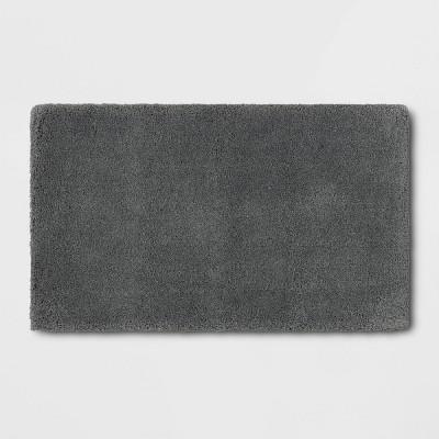 "24""x40"" Bath Rug Dark Gray- Threshold Signature™"