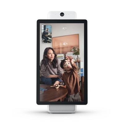Facebook Portal Plus Smart Video Calling 15.6 Display with Alexa (White)