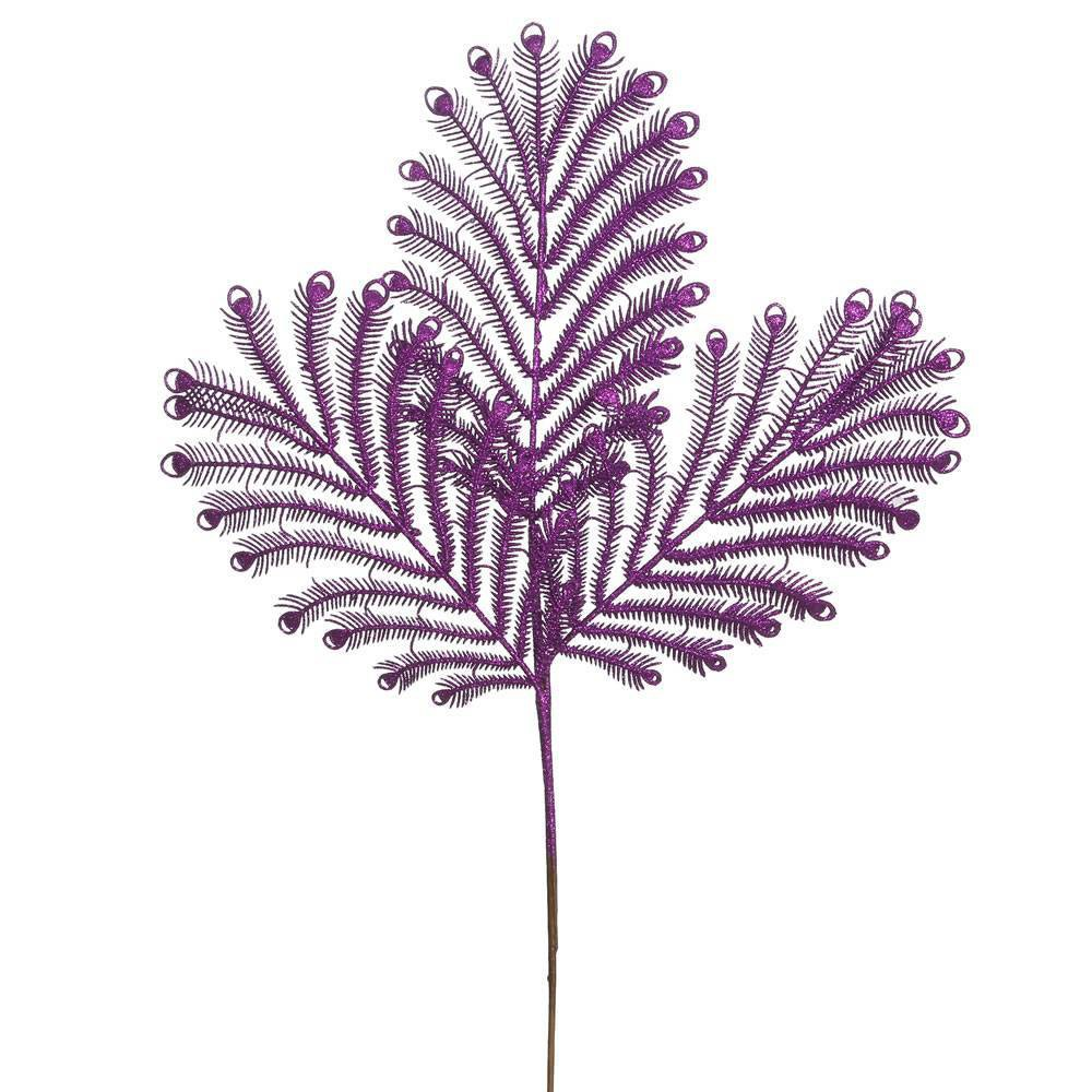 "Image of ""22"""" Tail Spray 12/Bg- Purple"""