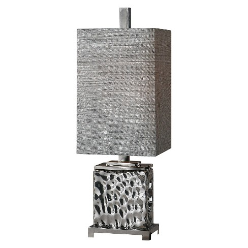 Uttermost Bashan Lamp - Nickel - image 1 of 2