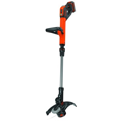 Black & Decker LSTE523 20V MAX Cordless Lithium-Ion EASYFEED 2-Speed 12 in. String Trimmer/Edger Kit