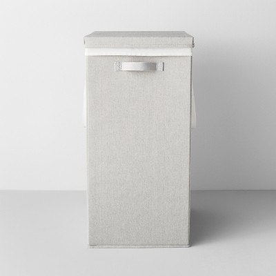 Collapsible Hamper With Laundry Bag Light Gray - Made By Design™