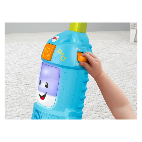 Fisher-Price Laugh and Learn Light-up Learning Vacuum image number null