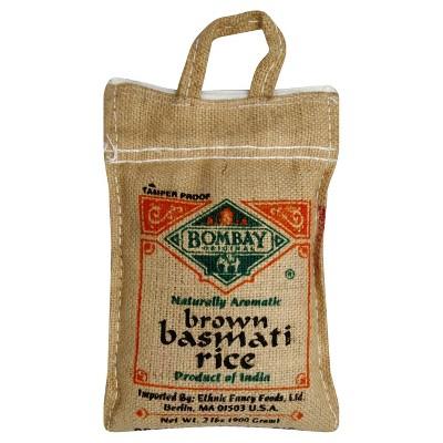 Bombay Brown Basmati Rice - 2lb