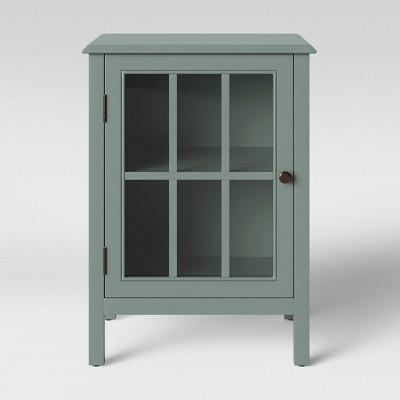 Windham One Door Accent Cabinet Lichen Green - Threshold™