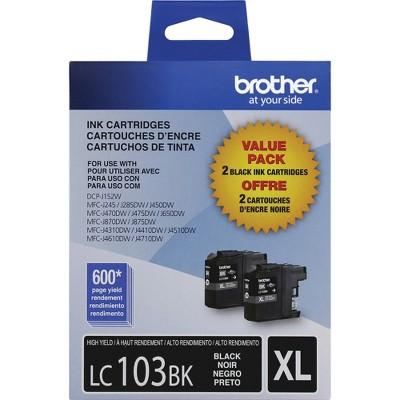 Brother LC1032PKS Innobella High-Yield Ink Black 2/PK