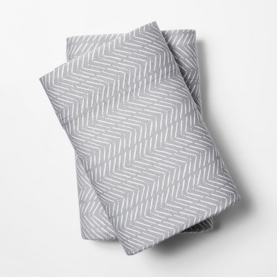 Jersey Pillowcase - (Standard)Gray - Room Essentials™