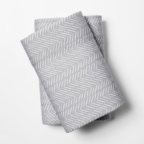Printed Jersey Pillowcase - Room Essentials™ - image 1 of 1