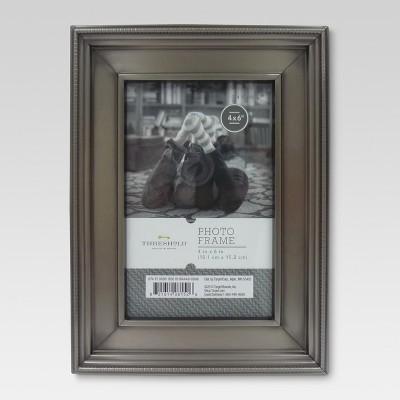 4 x6  Brushed Silver Frame - Threshold™
