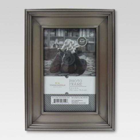 Brushed Silver Frame Threshold Target