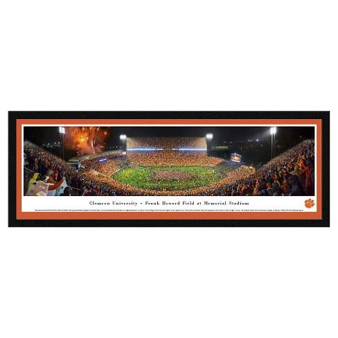 NCAAClemson Tigers BlakewayFootball Stadium View Framed Wall Art - image 1 of 1