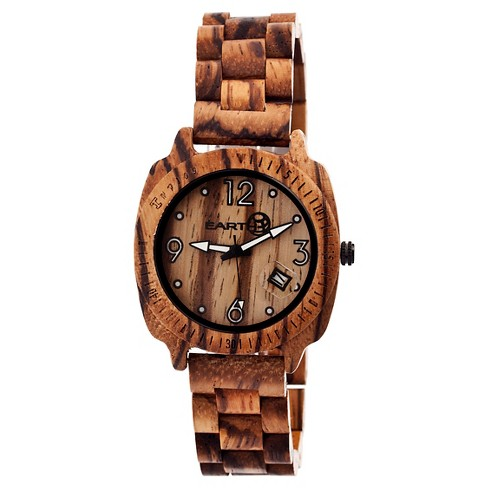 Men's Earth Wood Indios Watch with Eco-Friendly Sustainable Wood Bracelet - image 1 of 3