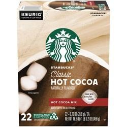 Starbucks Hot Coccoa Drink - Keurig K-Cup - 22ct