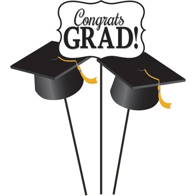 3ct Graduation Centerpiece Sticks