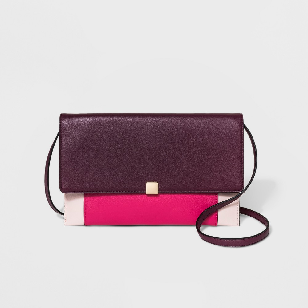 Square Clutch - A New Day Pink Punch, Women's
