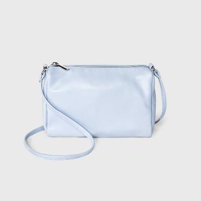 Zip Closure Crossbody Bag - Wild Fable™ Blue