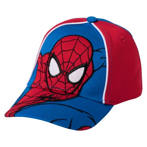 dd514f87d77abc Baby Boys' Spider-Man Baseball Hat - Blue One Size. Shop all Marvel