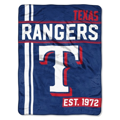 MLB Texas Rangers Micro Fleece Throw Blanket - image 1 of 2