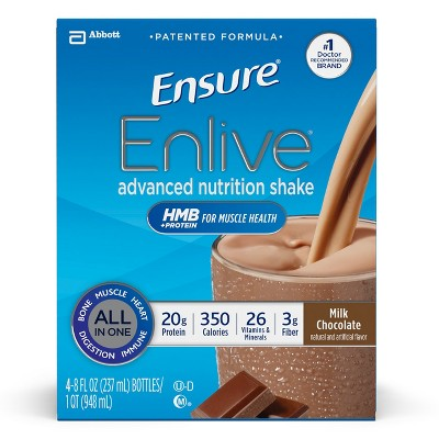 Protein & Meal Replacement: Ensure Enlive Shake